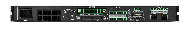 ALC-404D Amplifier - back image
