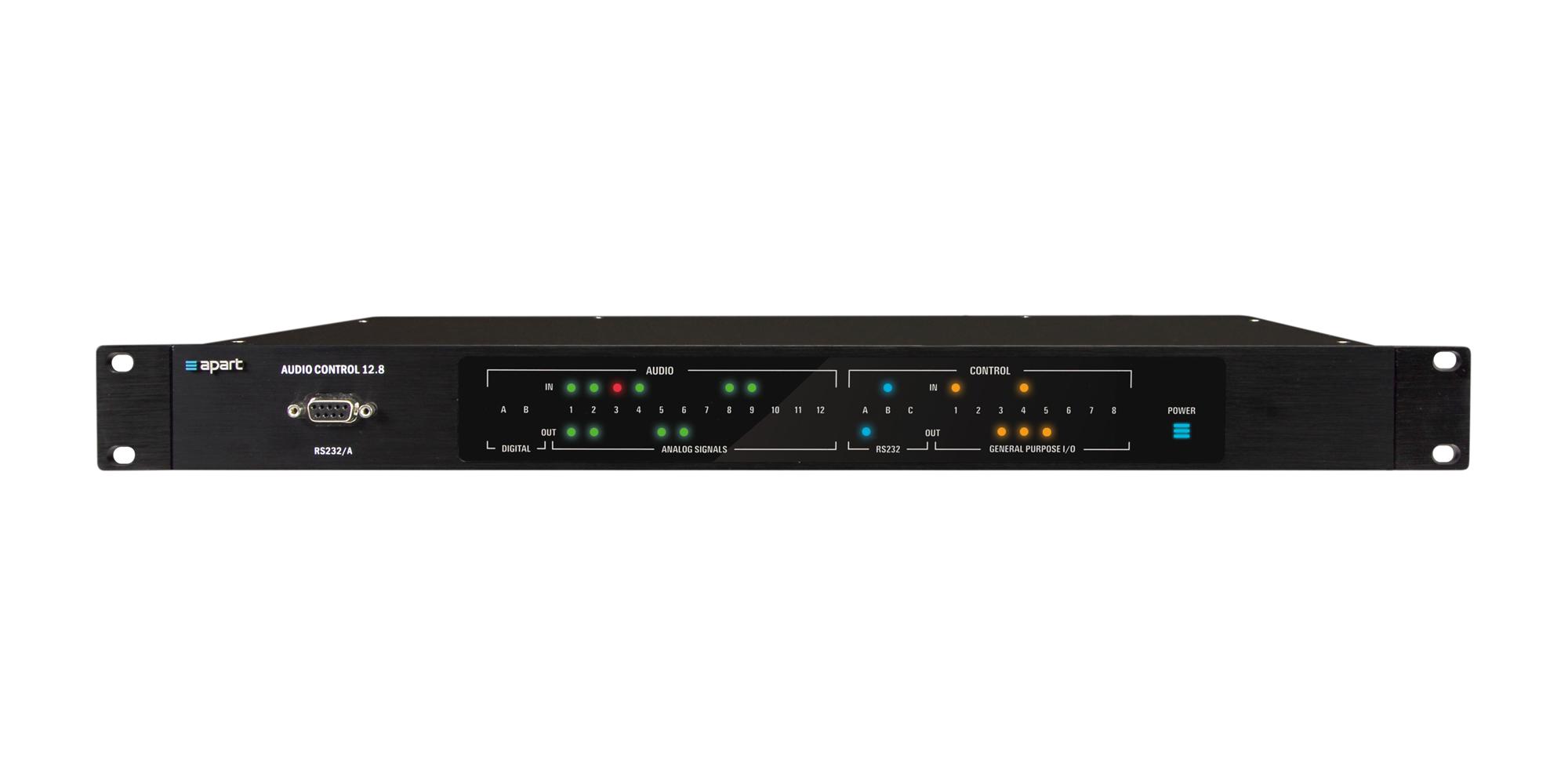 AUDIOCONTROL12.8 DSP powered audio matrix