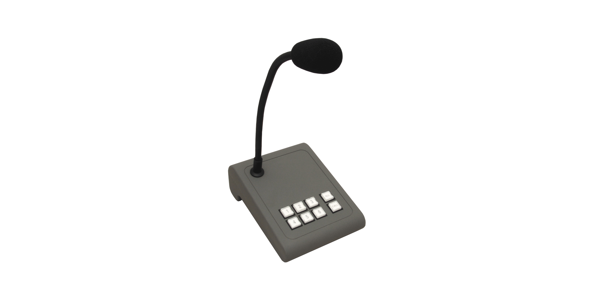 MICPAT-6 6-zone paging microphone