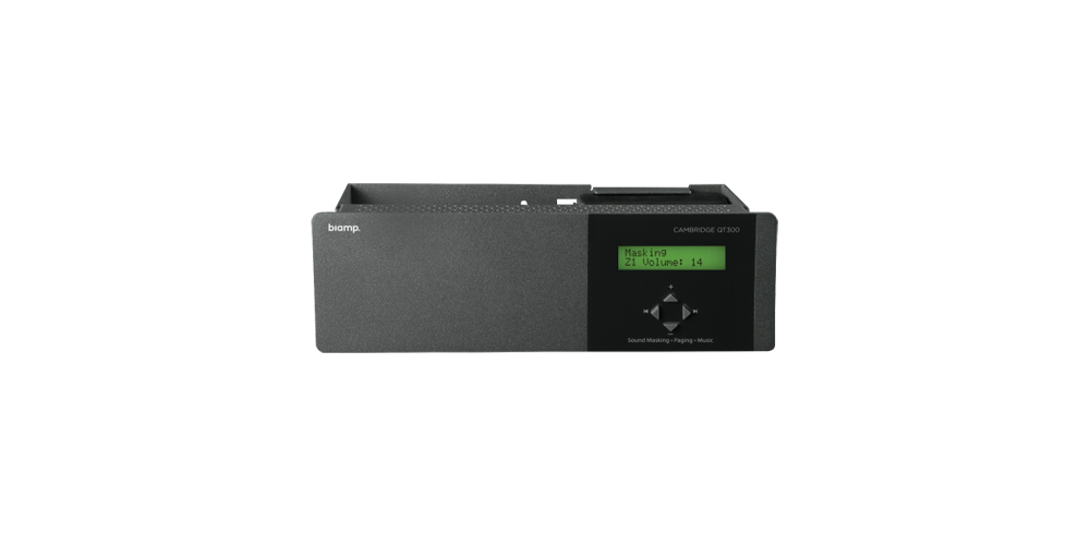 Qt® 100 1 zone sound masking generator, controller and amplifier for QtPro systems