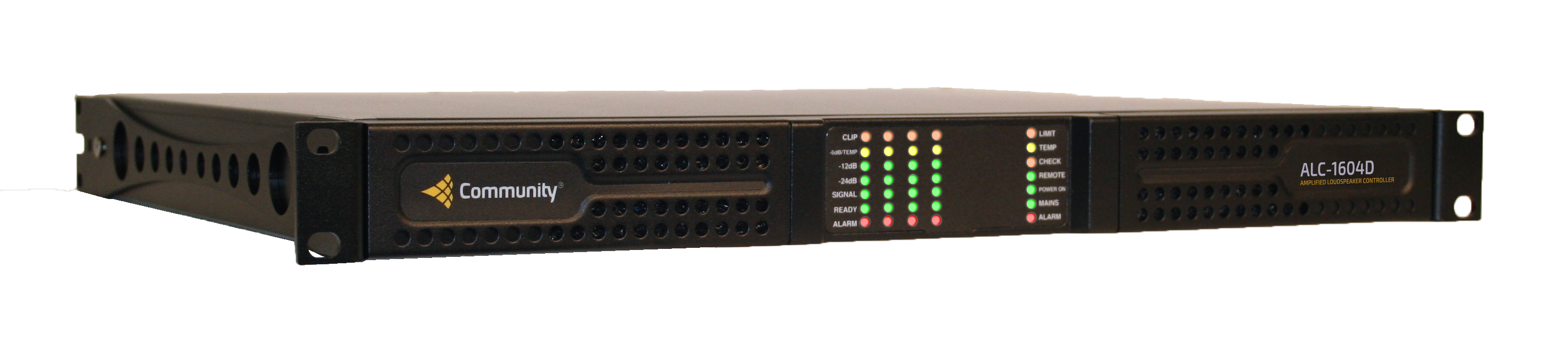 ALC-1604D 4 Channels x 1600W + DSP and Dante