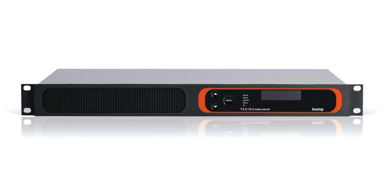 TesiraFORTÉ AVB VT4 is a fixed audio DSP