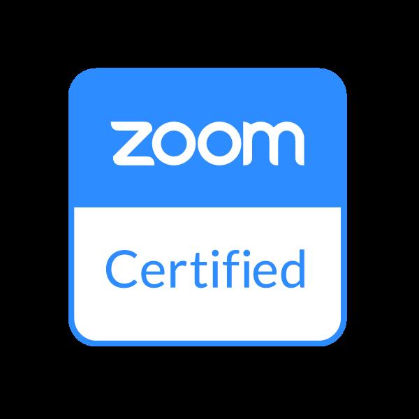 Zoom Certified Badge