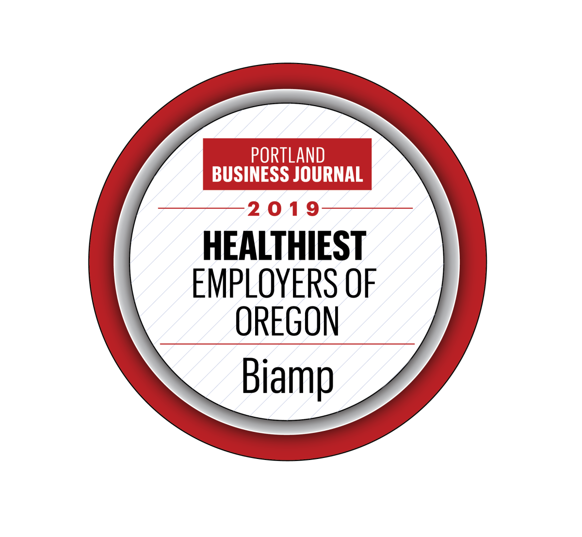 2019 Healthiest Employer PDX Biz Journal