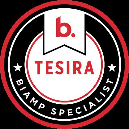 Biamp Specialist - Tesira Badge