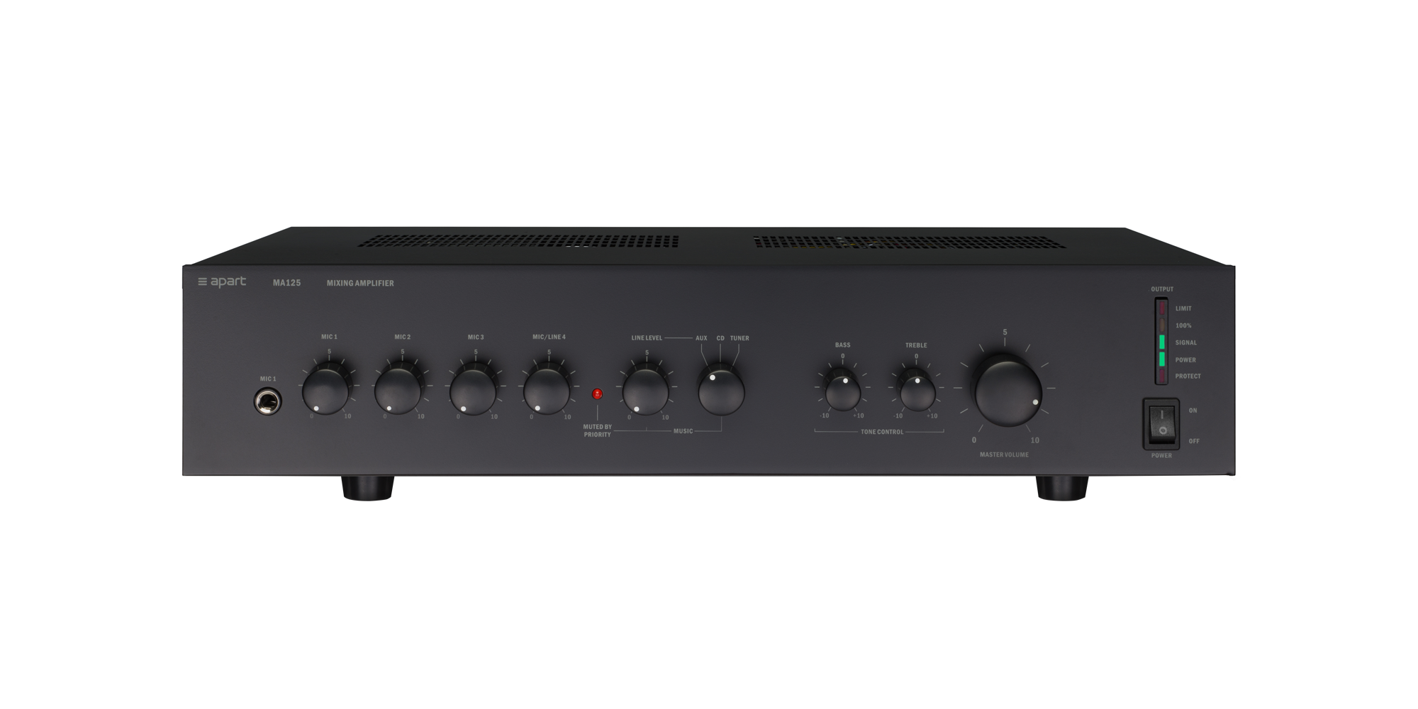 MA125 Public address mixing amp
