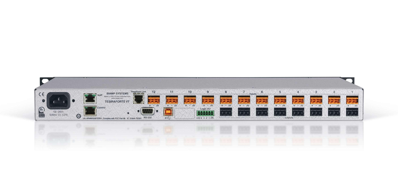 Tesira Fixed Audio Dsp High Level Input Wiring Zoom View