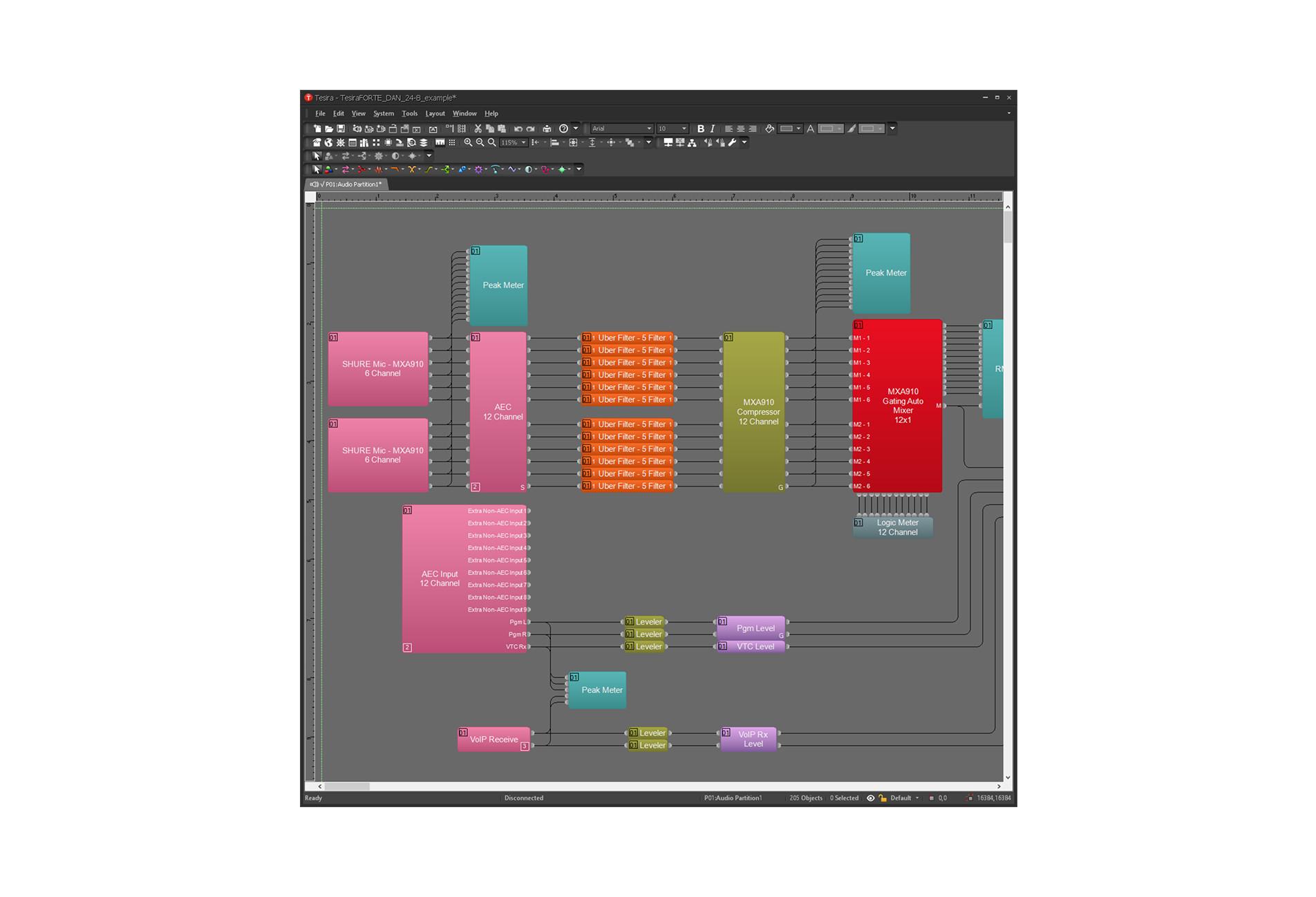 Tesira Software