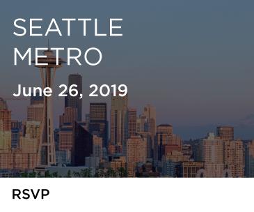 Seattle - NOW OPEN FOR REGISTRATION