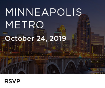 Join us for the Minneapolis Metro Roadshow