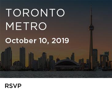 Join us for the Toronto Metro Roadshow