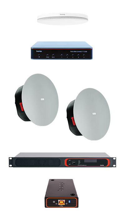 UC Bundle Solution for Medium Conference Room Ceiling Mic