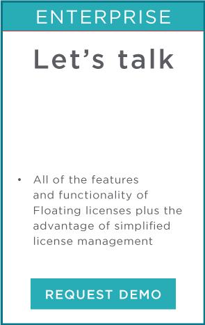 Enterprise licenses request demo